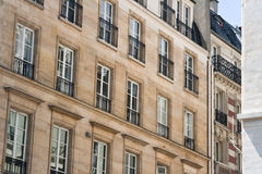 Historic homes in Paris France Royalty Free Stock Photo
