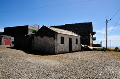 Historic Homes of Sao filipe Royalty Free Stock Images