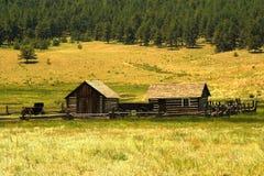 Historic Homestead Stock Image