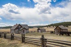 Historic Hornbeck Homestead Colorado Ranch Farm royalty free stock photo