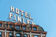 Historic Hotel Closeup View Royalty Free Stock Photos