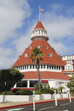 Historic Hotel Del Coronado in San Diego Stock Photos