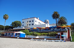 Historic Hotel in Laguna Beach, California. Royalty Free Stock Photography