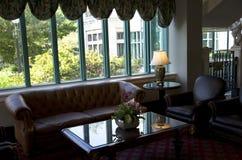 Historic hotel lobby Royalty Free Stock Photos