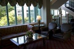 Historic hotel lobby Stock Photography