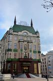 Historic Hotel Moskva Moscow in central Belgrade Serbia Royalty Free Stock Photos