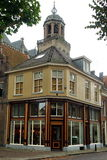 Historic house. In front of church in Deventer the Netherlands Stock Image