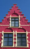 Historic house (Bruges, Belgium) Stock Photo