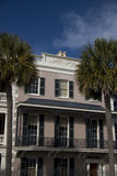 Historic house in Charleston. Exterior of historic house on East Bay Street, Charleston, South Carolina Stock Photos