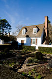 Historic house in Colonial Williamsburg, VA Stock Images
