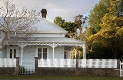Historic house in Coromandel Stock Image