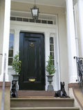 Historic house entrance 2 royalty free stock photography