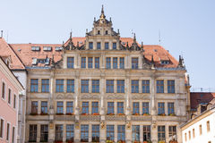 Historic House Facade in Goerlitz Royalty Free Stock Photography