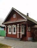 Historic house in Gorodets. Nizhny Novgorod Oblast. Russia Stock Photo