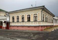 Historic house in Gorodets. Nizhny Novgorod Oblast. Russia Royalty Free Stock Images