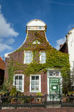 Historic house in Greetsiel, Germany Stock Photography