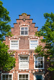 Historic house in Haarlem, Netherlands Royalty Free Stock Photos