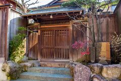 Free Historic House In Spring, In The Nagamachi Samurai District Of Kanazawa City, Japan Royalty Free Stock Images - 177233889
