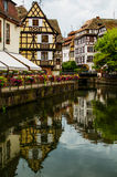 Historic house of La Petite France in Strasbourg, Alsace, France.  royalty free stock photo