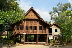 Historic house of malacca. Malacca Malay traditional houses constitute the remains of the tradition that is maintained by the Malaysian government. If it is not Royalty Free Stock Image