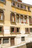 Historic house of Marino Sanuto the Younger, Venice. One time home of the Venetian historian Marino Sanuto the Younger (1466–1536), also known as Marin Sanudo Royalty Free Stock Photos