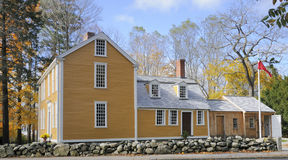 Historic House in Massachusetts Stock Images
