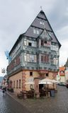 Historic house in Miltenberg Stock Photo