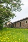 Historic house on Naviglio Grande, Milan Stock Image