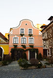 Historic house near the square in the South Bohemian town. Historic house near the square in the South Bohemian town Jindrichuv Hradec Stock Images