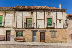 Historic house in the old part of Atienza Stock Photography