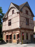 Historic house, Provins ( France ) Royalty Free Stock Image