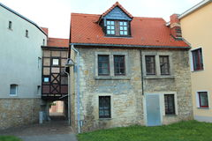 Historic house in Querfurt Stock Photography