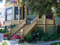 Historic House in San Jose CA Royalty Free Stock Image