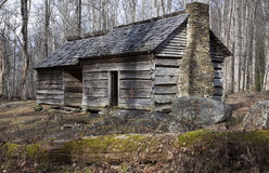 Historic house in Smoky Mountains Royalty Free Stock Images