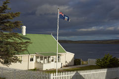 Historic House in Stanley - Falkland Islands Royalty Free Stock Image