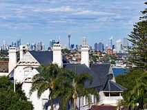 Historic House, Vaucluse, Sydney, Australia Stock Photography