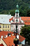 Historic senter in the town of Tabor, Southern Bohemia, Czech Republic royalty free stock photos