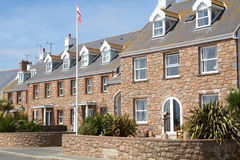 Historic houses on the channel island of Jersey, U Royalty Free Stock Photography