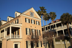 Historic houses in Charleston Stock Image