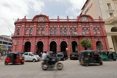 Historic houses in Colombo Sri Lanka Royalty Free Stock Images