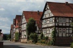 Historic Houses of Herleshausen Royalty Free Stock Image