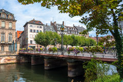 Historic houses in the La Petite France in Strasbourg Stock Image