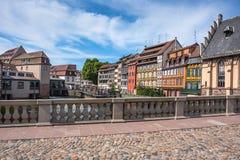 Historic houses in the La Petite France in Strasbourg Stock Image
