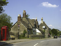 Historic houses, Lacock, Wiltshire, England, United Kingdom, Europe Royalty Free Stock Images