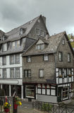 Historic houses in Monschau, Germany Royalty Free Stock Photography