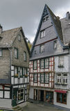 Historic houses in Monschau, Germany Royalty Free Stock Photo