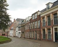 Historic houses. The Netherlands Royalty Free Stock Photos