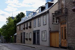 Historic Houses, Quebec City, Canada Stock Photos