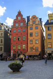 Historic houses in Stockholm Royalty Free Stock Image