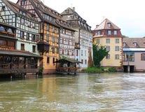 Historic houses in Strasbourg Stock Image